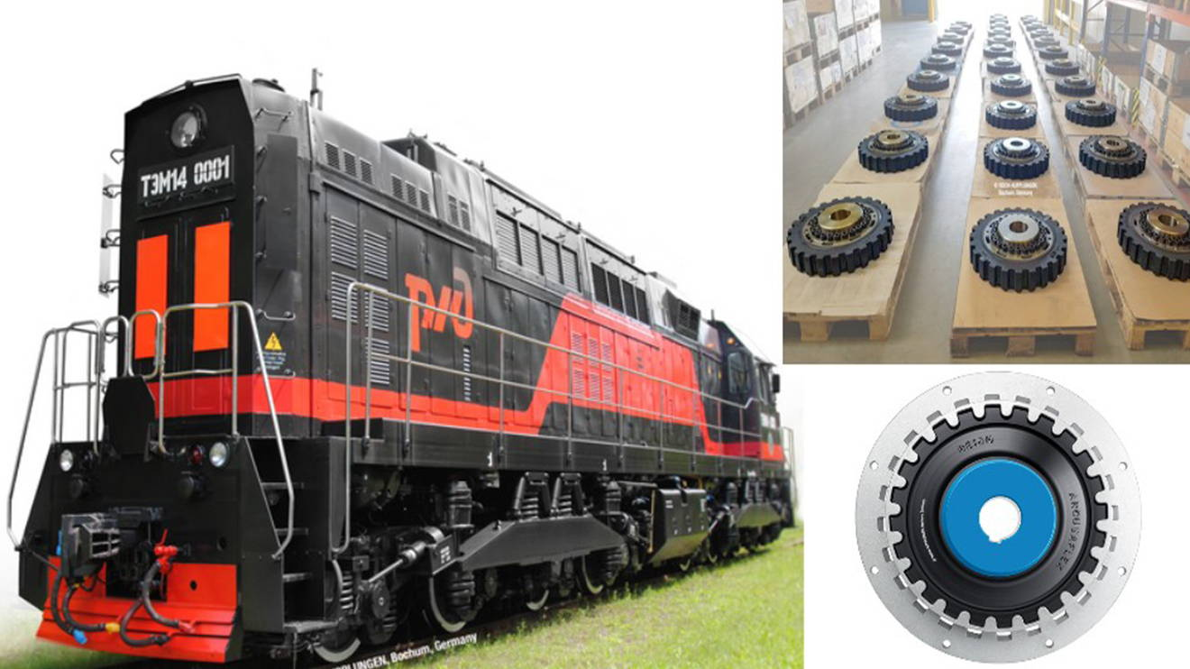 REICH news Serienfertigung für russische Diesellokomotive main - Series production for Russian diesel locomotive