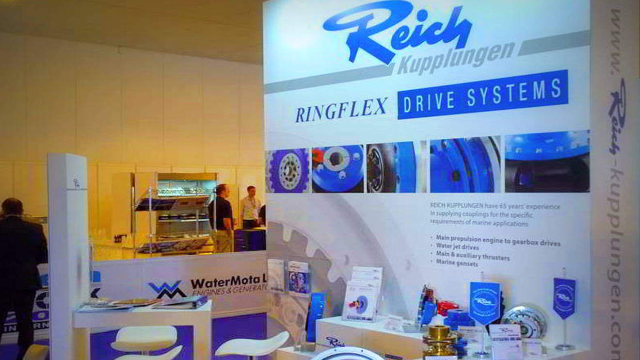 REICH news seawork international ringflex stellte aus main - Seawork International: Ringflex exhibted
